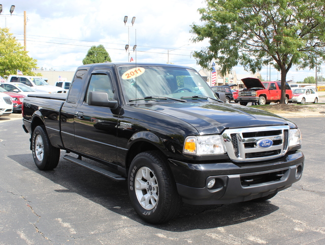 Pre Owned 2011 Ford Ranger 4wd Supercab Xlt 4d